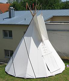 allgemeine informationen ber tipi zelte. Black Bedroom Furniture Sets. Home Design Ideas